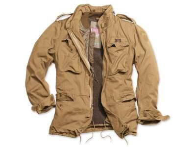 Куртка зі знімним підкладкою SURPLUS REGIMENT M 65 JACKET (Beige), Surplus Raw Vintage®
