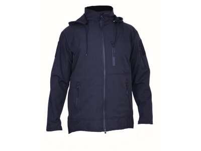 Куртка SoftShell KPK (Black), Украина