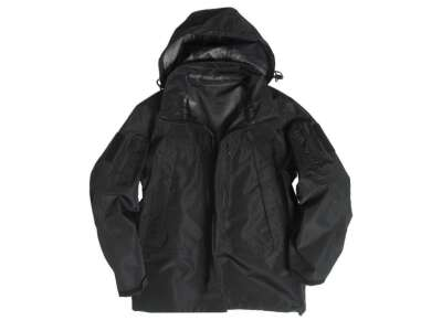 Куртка софтшелл SOFTSHELL PCU, [019] Black, Sturm Mil-Tec® Reenactment
