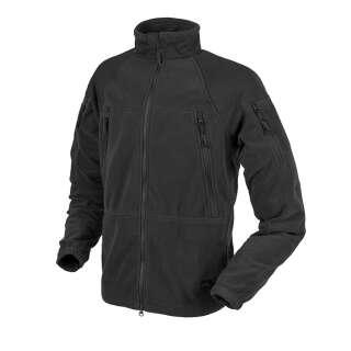 Куртка STRATUS® - Heavy Fleece, Black, Helikon-Tex