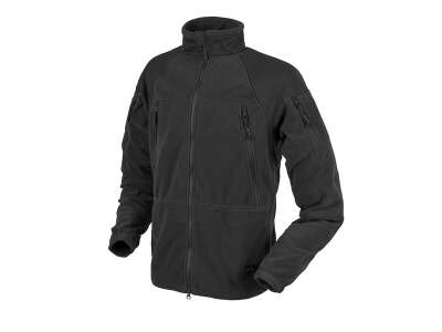 Куртка STRATUS® - Heavy Fleece, Black, Helikon-Tex®