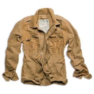 Куртка SURPLUS HERITAGE VINTAGE JACKE, [1344] Washed beige, Surplus Raw Vintage®