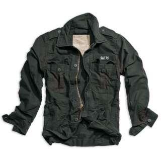 Куртка SURPLUS HERITAGE VINTAGE JACKE, [1346] Washed black, Surplus Raw Vintage®
