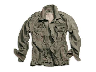 Куртка SURPLUS HERITAGE VINTAGE JACKE, [1349] Washed olive, Surplus Raw Vintage®