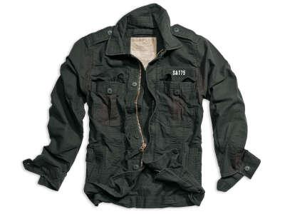 Куртка SURPLUS HERITAGE VINTAGE JACKE (Black), Surplus Raw Vintage®