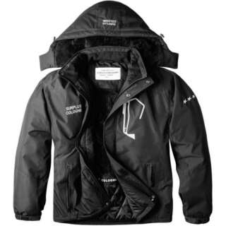 Куртка SURPLUS STARS JACKET (великі розміри) [019] Black, Surplus