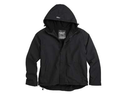 Куртка SURPLUS ZIPPER WINDBREAKER, [019] Black, Surplus Raw Vintage®
