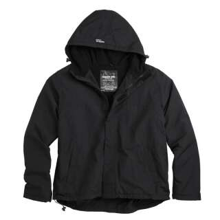 Куртка SURPLUS ZIPPER WINDBREAKER OVERSIZE (большие размеры), [019] Black, Surplus Raw Vintage®
