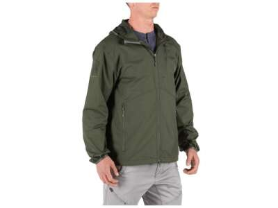 Куртка тактическая 5.11 Cascadia Windbreaker Jacket, [190] TDU Green, 5.11