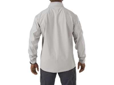 Куртка тактическая для штормовой погоды 5.11 SIERRA SOFTSHELL, [093] STEAM, 5.11
