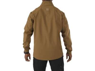 Куртка тактическая для штормовой погоды 5.11 SIERRA SOFTSHELL, [116] Battle Brown, 5.11