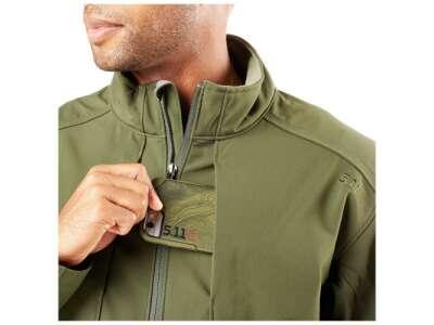 Куртка тактическая для штормовой погоды 5.11 SIERRA SOFTSHELL, [191] Moss, 5.11