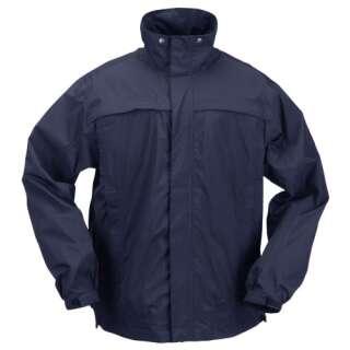Куртка тактическая для штормовой погоды 5.11 TacDry Rain Shell, [724] Dark Navy, 5.11