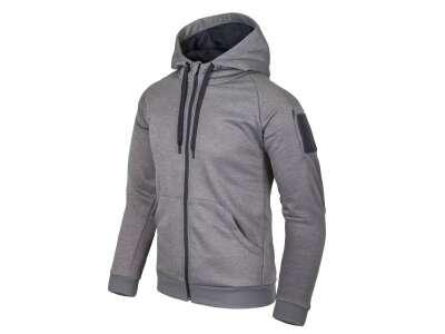 Куртка URBAN TACTICAL HOODIE (FullZip), Grey Melange, Helikon-Tex®