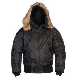 Куртка US N2B (Aляска), Black, Mil-tec