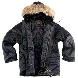 Куртка US N3B (Aляска), Black, Helikon-Tex®