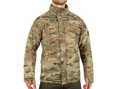 Куртка утепляющая двусторонняя Sturm Mil-Tec Сold Weather Jacket Reversible Multitarn®/Dark Coyote, Sturm Mil-Tec®