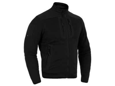 Куртка утепляющая зимняя PCWJ-Thermal Pro (Punisher Combat Warmer Jacket Polartec Thermal Pro), Combat Black, P1G-Tac