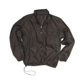 Куртка-ветровка с чехлом (Black), Mil-Tec Sturm