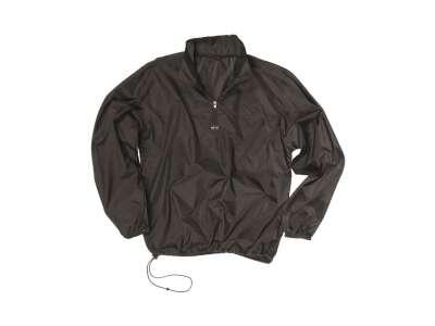 Куртка-вітровка з чохлом (Black), Mil-tec