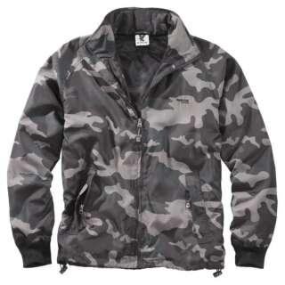 Куртка ветровка SURPLUS Windbreaker Basic, [1150] Black camo, Surplus Raw Vintage®