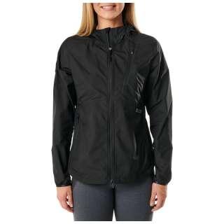 Куртка ветрозащитная женская 5.11 Women's Cascadia Windbreaker Packable Jacket, [019] Black