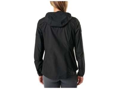 Куртка ветрозащитная женская 5.11 Women's Cascadia Windbreaker Packable Jacket, [019] Black, 5.11 Tactical®