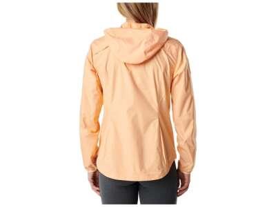Куртка вітрозахисна жіноча 5.11 Women's Cascadia Windbreaker Packable Jacket, [398] Peach, 44140