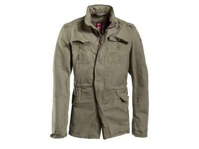 Куртка вінтажна SURPLUS DELTA BRITANNIA OVERSIZE, [тисячу триста сорок дев'ять] Washed olive, Surplus Raw Vintage®