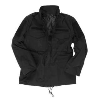 Куртка влагозащитная M65, [019] Black, Mil-tec