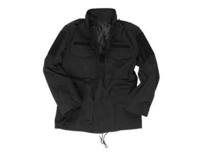 Куртка влагозащитная M65, [019] Black, Sturm Mil-Tec® Reenactment