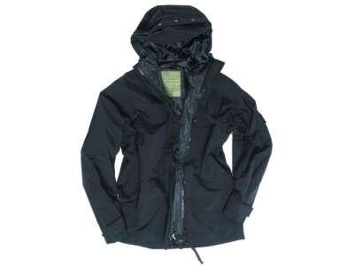 Куртка влагозащитная US JACKET TRILAMINAT, [019] Black, Sturm Mil-Tec® Reenactment
