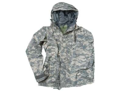 Куртка влагозащитная US JACKET TRILAMINAT, [+1129] Камуфляж AT-DIGITAL, Sturm Mil-Tec®
