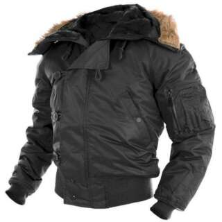 Куртка зимняя лётная N2B Аляска, [019] Black, Sturm Mil-Tec® Reenactment