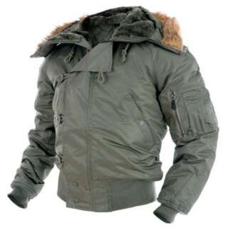 Куртка зимняя лётная N2B Аляска, [182] Olive, Sturm Mil-Tec® Reenactment