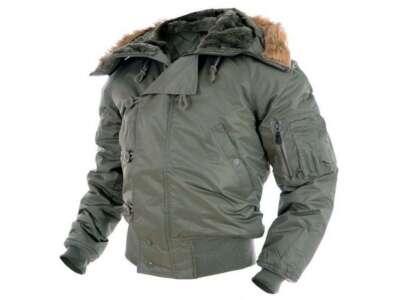 Куртка зимова льотна N2B Аляска, [182] Olive, Sturm Mil-Tec®