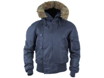 Куртка зимняя лётная N2B Аляска, [728] Navy, Sturm Mil-Tec