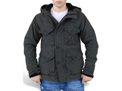 Куртка зимняя SURPLUS SUPREME VINTAGE HYDRO, [1346] Washed black, Surplus Raw Vintage®
