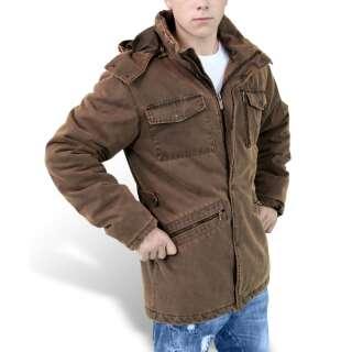 Куртка зимняя SURPLUS XYLONTUM SUPREME JACKET, [108] Brown, Surplus Raw Vintage®