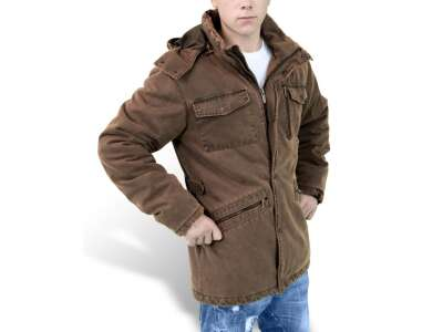 Куртка зимняя SURPLUS XYLONTUM SUPREME JACKET, [108] Brown, Surplus Raw Vintage®