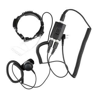 Ларингофон EMP-3988CK, Black, Kenwood
