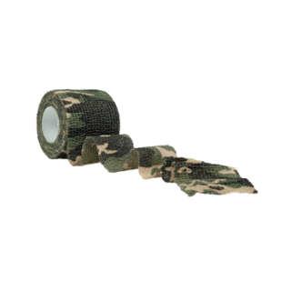 Стрічка камуфльований Mil-Tec (Woodland 4,5м), Mil-tec