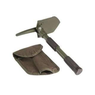 Лопата mini с чехлом, [182] Olive, Sturm Mil-Tec® Reenactment