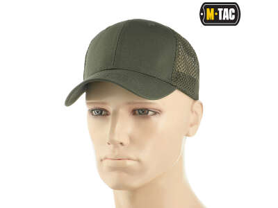 M-Tac бейсболка с сеткой Flex рип-стоп Army Olive