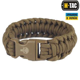 M-Tac браслет паракорд Каратель 2 хакі