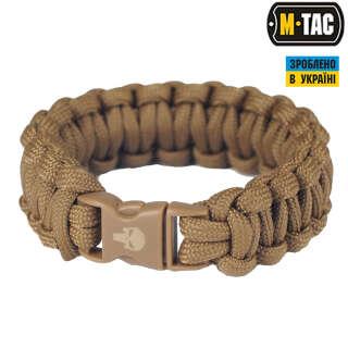 M-Tac браслет паракорд Каратель хакі
