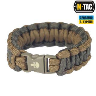 M-Tac браслет паракорд Каратель олива/хакі