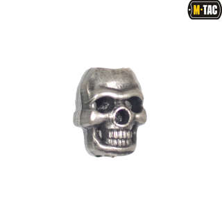 M-Tac намистина Skull Stopper Metal Brushed
