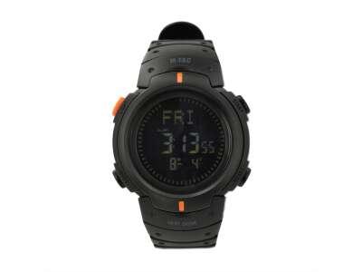 M-Tac часы с компасом black