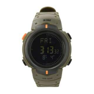 M-Tac часы с компасом Olive